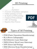 3d Printing Seminar