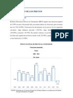 Evolución Interanual Del INPC y de Los Índices de Los Estratos