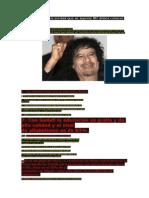 Libia y Gadafi