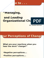 PPT of manaing change