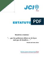 Estatutos JCI Peru