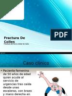 Fractura de Colles TEORIA