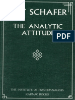 The analytic attitude Roy Schaffer