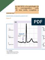 De Las Ondas Del ECG a La Patología