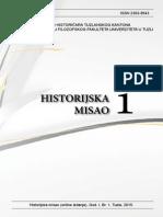 Historijska Misao 1