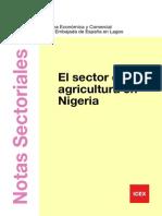 El Sector de La Agricultura en Nigeria