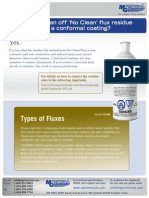MG Chemicals Types of Fluxes