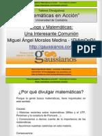 Blogs y Matemáticas Una Interesante Comunión