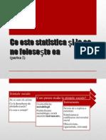 Ce este statistica?