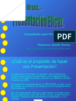 Presentaciones Eficaces.
