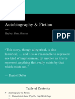 autobiography vs fiction