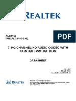 ALC1150-CG_DataSheet_1.0