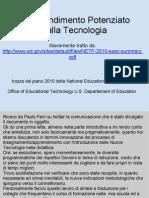 L Apprendimento Potenziato Dalla Tecnologia