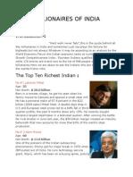 Millionaires of India 2003