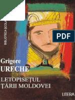 Ureche Grigore - Letopis Tarii Mold (Tabel Crono)