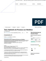 Rediseño de Procesos Con Workflow de Marcelo Ovejero