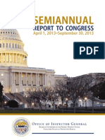 OIG Semiannual Report September 2013