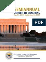 OIG Semiannual Report September 2014