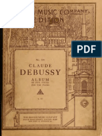 Album of Five Piece 00 Claude Debussy no 134