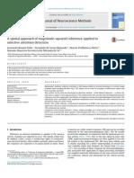 Artigo - Coerência Espacial - Journal of Neuroscience Methods