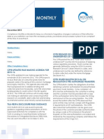 Accume December 2015 Compliance Monthly