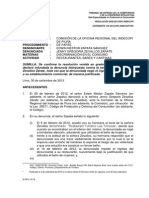 Resolución Indecopi - Prohibición de Ingreso a Baño de Mujeres a Persona Trans