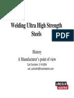 07 - Welding Ultra High Strength Steels