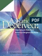 nation deceived - volume1