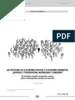 Las vicisitudes de la economía positiva y la economía normativa.pdf
