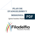 Plan de Evangelismo Iglesia Docx