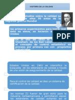 Historia de La Calidad.....