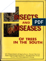 Insects and Diseases of Trees in the South