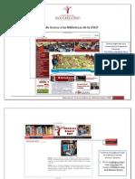Guía de Acceso a las Bibliotecas de la USGP