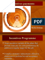 PPT of Incentives Plans