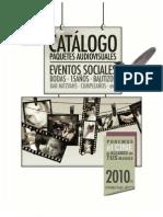 Catalogo Eventos Sociales