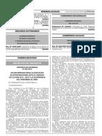D.U. 04-2015 Medidas Para Ejecucion Fenomeno Del Niño