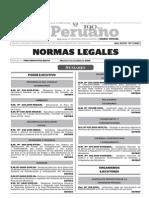 Normas Legales, martes 1 de diciembre del 2015