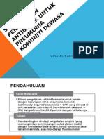 Strategi Pengobatan Antibiotik Untuk Pneumonia Komuniti Dewasa