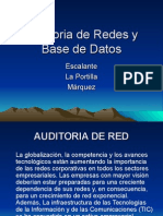 Auditoria de Redes y Base de Datos