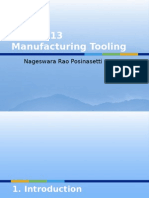 Introduction to Mfg Tooling