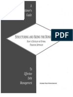 A Practitioners Guide Structuring and Sizing the Bond Issue