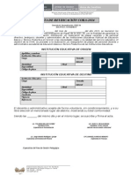 Acta de Reubicación RAC-2014