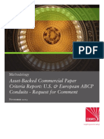 Asset Backed Commercial Paper Criteria Report
