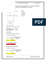 Ejercicios  Termodinámica - Segundo Parcial