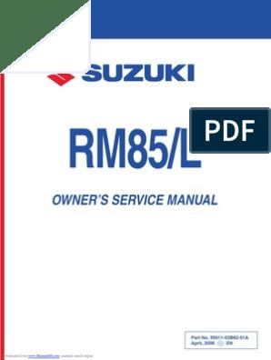 rm85   Carburetor   Manual Transmission