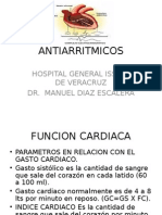 ANTIARRITMICOS  18X1