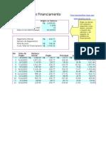 Cálculo de Financiamento