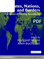 Allen Buchanan, Margaret Moore-States, Nations and Borders_ the Ethics of Making Boundaries (Ethikon Series in Comparative Ethics) (2003)