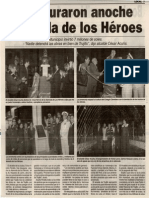 Sátelite 13-07-13 Inauguraron anoche  Alameda de los Héroes