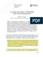 siegel-mindful awareness mindsight and neural integration